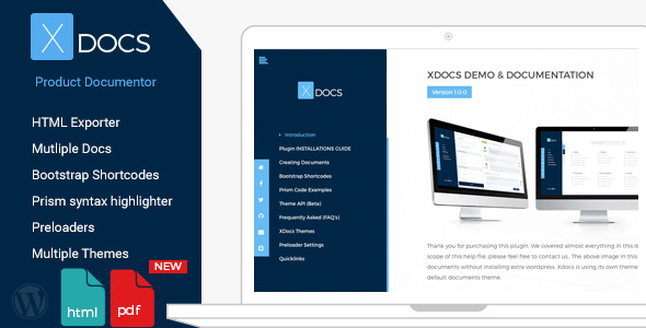 X Docs v1.0.9 — WordPress Product Documentation Creator — Nulled Scripts