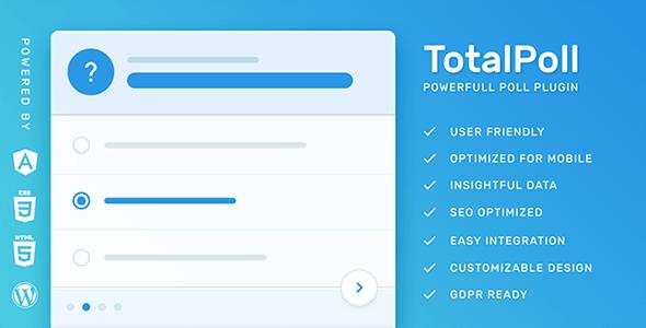 TotalPoll Pro v.4.2.0 — плагин для опросов WordPress